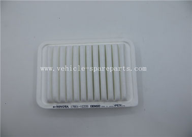 White Color Engine Spare Part Car Air Filter For Toyota Corolla / Yaris 17801-YZZ05